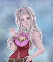 Mirajane Strauss by Black-Strawbarrie