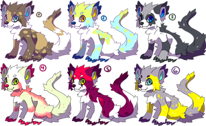 Monster puppies for sale6:Closed by Pand-ASS
