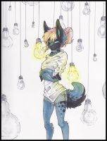 Lightbulbs::..+ by Uriko44