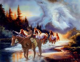 Spiritual Guided by Dances-With-Wolves