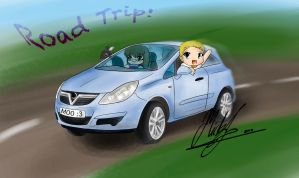 Road Trip!! by Micky-K