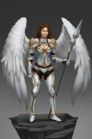 Angel warrior Concept2 by Zamberz