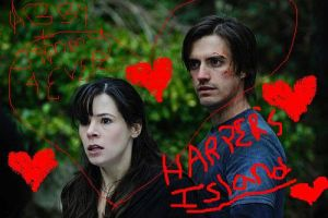 Abby and jimmy Harpers Island by Goth500