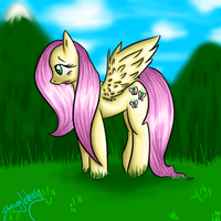 Fluttershy by Smoogleberry