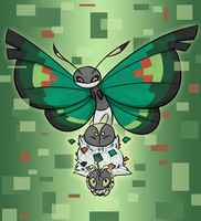 PKMNN - Your Pixel evolved into Vivillion! by Thalateya