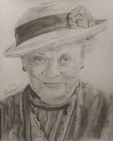 Maggie Smith - Minerva McGonagall by LucaHennig