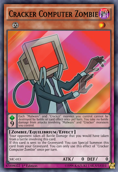 Cracker Computer Zombie by Reaxter