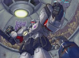 War Within  Megatron by MarceloMatere