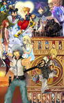 Ten Years of Kingdom Hearts by R-Eos