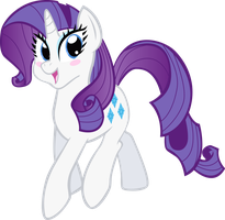 Request -- Adorable Rarity by KimikoNyanChan