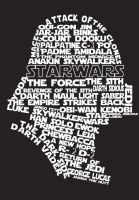 Darth Vader Typography by mythicdragon30