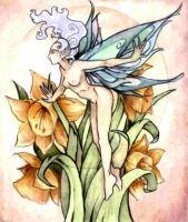 Spring Fairy by absynthia