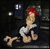 Remus and Lily by moehawk37