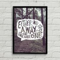 A Way Printable A4 Poster by MysticEmma