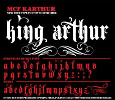 MCF_Karthur font by MisterChek