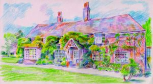 Peppard Cottage as seen in the film Howards End by 80sdisco