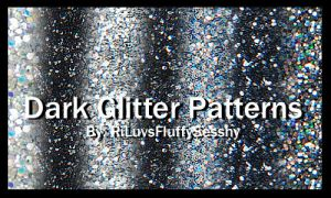 Dark Glitter Patterns by RiLuvsFluffySesshy