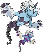 642 - Thundurus (Therian Forme) - Art v.2 by Tails19950