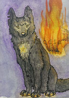 ACEO #10: Feuer und Flamme by DesmodiaDesigns