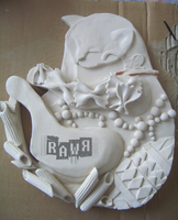 After Baked Clay Cat by R-A-W-R