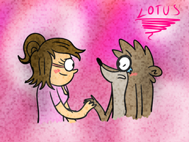 You aren't a piece of crap, Rigby. by LotusTheKat