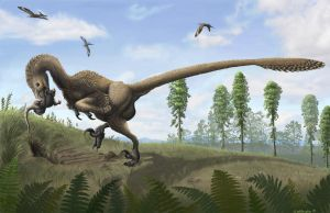Saurornitholestes by EWilloughby