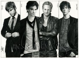 My Leading Men by disdaindespair
