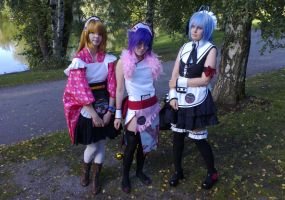 Tracon 7: Cherry Girls by DeusIX