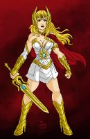 MOVIE SHE-RA challenge by chachaman