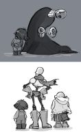 Undertale- doodles by MadJesters1