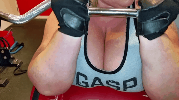 Preacher curls today. GIF. by Cleavage3