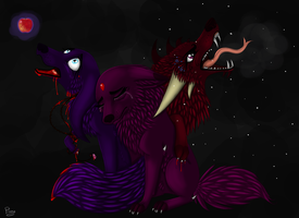 Three Faces of Evil by Elana-Louise