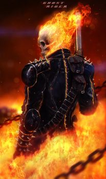 Ghost Rider by johnsonting