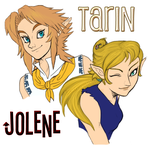 .:Tarin and Jolene:. by SiscoCentral1915