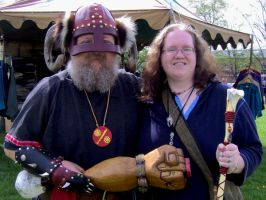 Me and Og, Viking Fest 2008 by Shara-Moonglow