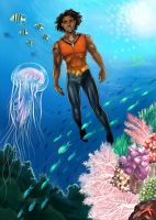 Aqualad by Autumn-Sacura