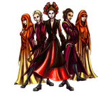 Padme's Handmaidens by Ai-Don