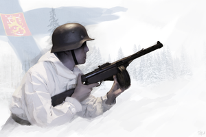 Finnish Soldier by Toksa1