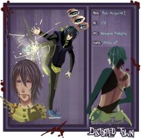 Distorted Town, Yuki,  revamp Application by Watolf