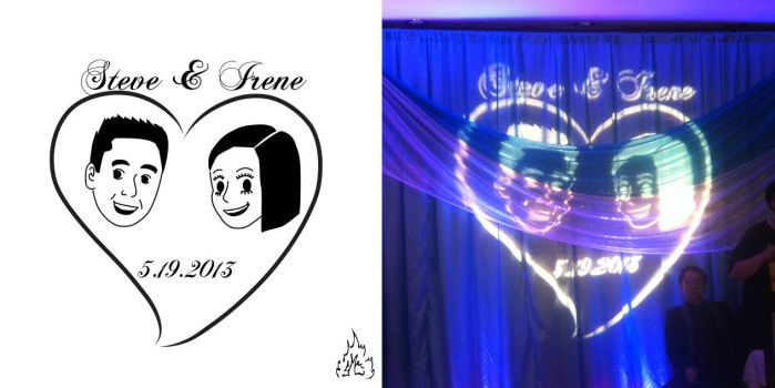 Wedding gobo image by Soul-Fyre