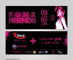 Funk Friends Flyer by lucasvfa