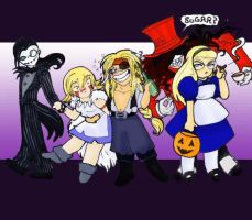 Hellsing Halloweenies by hermitchild