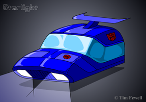 Starlight vehicle mode by Timothius