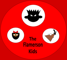 The Flamerson Kids by Flame-dragon