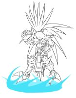 LA: Algol The Hedgehog by RaptorTheHawk