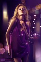 Color of night III by Vitaly-Sokol