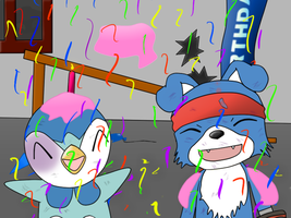 Partying, yeah? by Xander3000