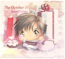 My October Prince Saeki Kojirou by Kauthar-Sharbini