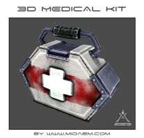 3D Medical Kit + 3D video TurnAround by mizukoiuchi