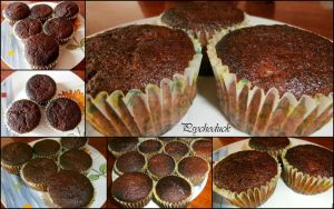 Chocolate banana muffins by nikinik666